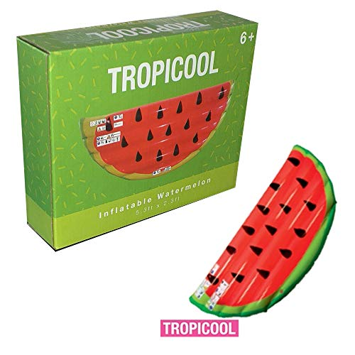 Crazyshop Tropicool aufblasbare Wassermelone 5.3ft x 2.3ft