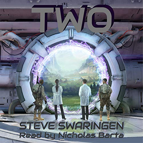 Two audiobook cover art