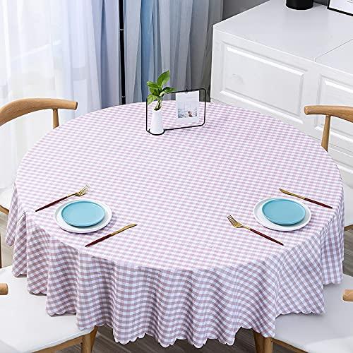 JIALIANG Mantel de PVC con un mantel de hule limpio fácil de limpiar y de plástico de vinilo utilizado para comedor, cocina y picnic, 140 cm