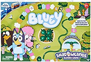 Bluey Games Multicolor