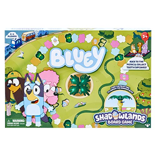 Bluey - Shadowlands Board Game - Family Game Night, Unpredictable Fun - Engaging Fun for All -...