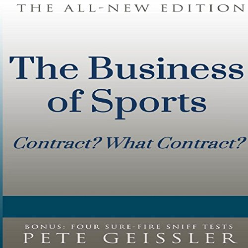 The Business of Sports audiobook cover art