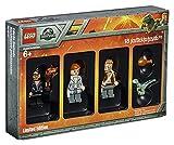 LEGO 5005255 Jurassic World - Set de Minifiguras de edición Limitada de la película Fallen Kingdom, Dinosaurio Azul bebé, Juguetes coleccionables, Regalo Divertido