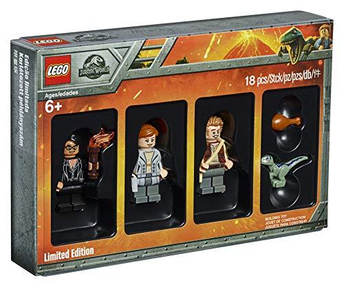 LEGO 5005255 Jurassic World - Juego de Minifiguras de edición Limitada de película de Reino Caído, Dinosaurio Azul bebé, Juguetes coleccionables, Regalo Divertido