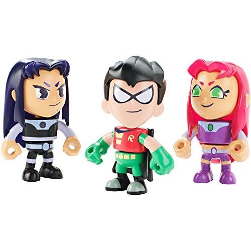Mattel Teen Titans Go! Robin Blackfire Starfire Mini Figures