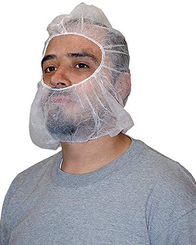 Disposable Bouffant Hoods Caps Polypropylene Hair Net White 900 Pack