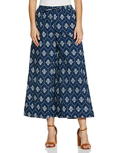 Amazon Brand – Tavasya Women's Palazzo Relaxed Pants