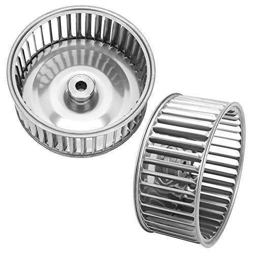Galvanized Multi-Wing Centrifugal Fan Wheel, Permanent Split Capacitor 14mm/0.6in Metal