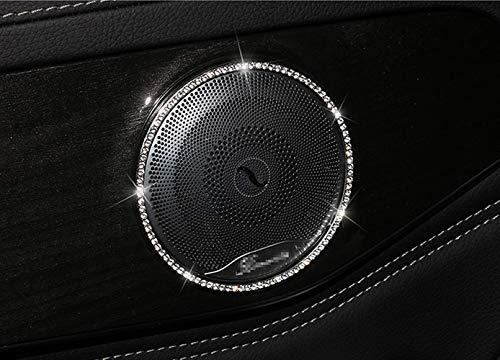 Copertura del pannello di console di controllo centrale in fibra di carbonio 2 pezzi di copertura decorativa per telaio adesivo auto adatta per Classe C W205 GLC C180 C200