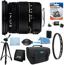 Sigma 17-50mm f/2.8 EX DC OS HSM FLD Zoom Lens for Nikon DSLR Camera Includes Bonus Xit 60