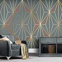 カスタムモダン抽象3D幾何学的な縞模様の壁紙家の装飾リビングルームソファテレビの背景写真の壁壁画の壁紙,430(W)*300(H)Cm