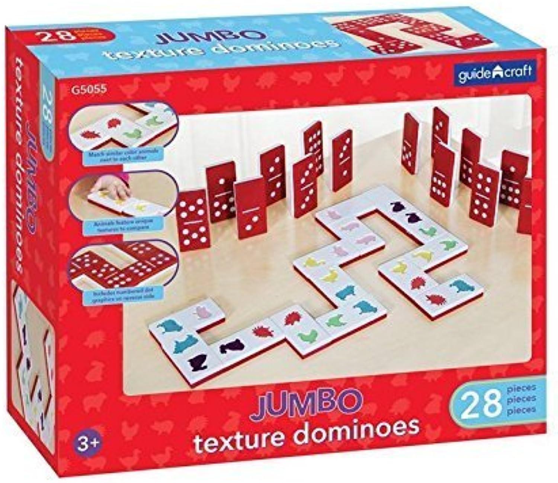 el precio más bajo Guidecraft Jumbo Texture Dominoes Dominoes Dominoes Set by Pro-Motion Distributing - Direct  a la venta