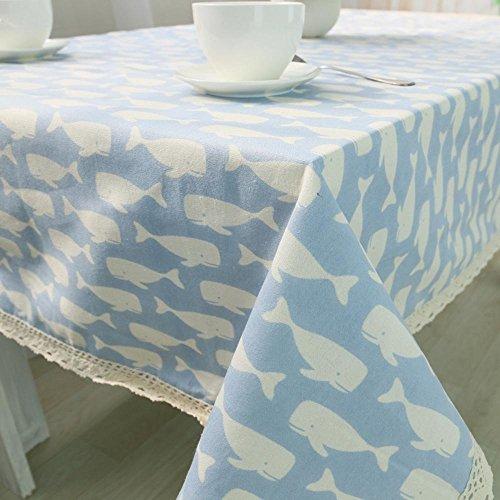 BiuTeFang Tafelkleed, Middellandse Zee-windkatoen, tafelkleed, thuistafelkleed, handdoek