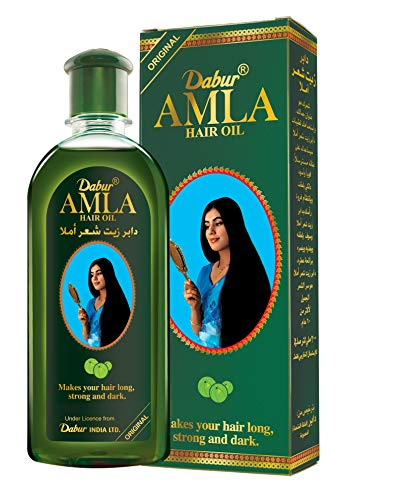 Dabur Amla Hair oil - Natural care for beautiful hair, 500ml