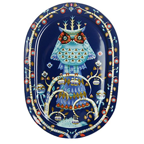 イッタラ タイカ サービングプレート 41cm ブルー 【並行輸入品】 73-2006-018883-2