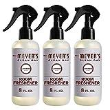 Mrs. Meyer's Clean Day Room Freshener, Lavender Scent, 8 Ounce Non-aerosol Spray Bottle (Pack of 3)