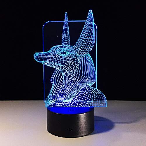 UFO Nachtlicht Illusion Touch Sensor Farbe Kind Kind Baby Geschenk Nachtlicht UFO Tischlampe Tisch