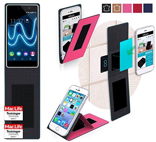 reboon Hülle für Wiko Fever Special Edition Tasche Cover Case Bumper | Pink | Testsieger