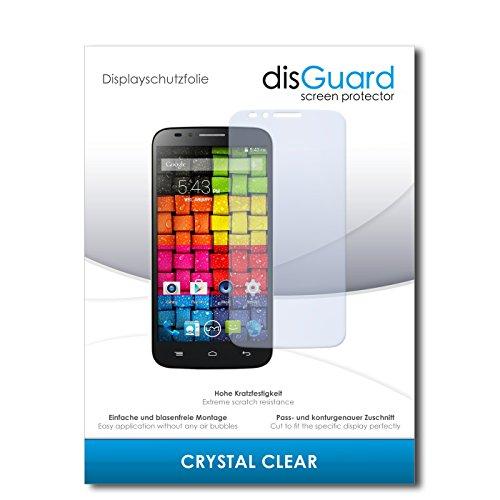disGuard® Bildschirmschutzfolie [Crystal Clear] kompatibel mit UMI eMax [4 Stück] Kristallklar, Transparent, Unsichtbar, Extrem Kratzfest, Anti-Fingerabdruck - Panzerglas Folie, Schutzfolie
