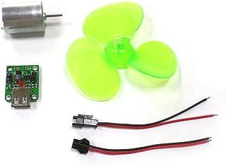nlgzklsh Generador de energía eólica portátil conjunto turbina motor alternador cargador de teléfono de emergencia