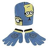 Conjunto gorro guantes Minions