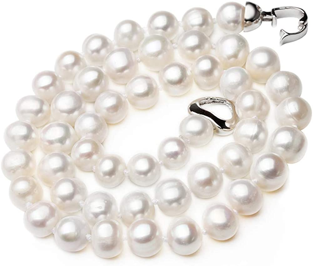 HENGSHENG Freshwater Trust Cultured Pearl Free Shipping New Necklace 925 Choker Sterling