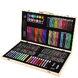 ASDFGG Rotuladores y Colores Pintura de los niños 180 Juego de Piezas de Arte Pintura Acuarela Lápiz de Color Conjunto de lápiz de la Pluma Dibujo para Colorear (Color : Natural, Size : Free Size)