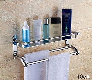 Engrosamiento del baño Capas cuadradas de un Solo baño Pared de la estantería Perforación de ángulo de una Sola Capa (Colo...