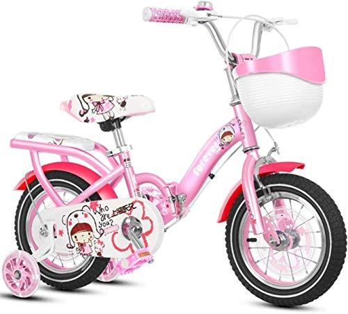 Bicicletas Bicicletas para niños, Bicicleta para niños Carrito Pink Baby Carriage 2-4 Año Niño Boy Pedal Balance Car 4-8 AÑOS LIBRE PLATABLE BICICLETE PLATABLE BICICLETE EJERCICIO BICICLETA DAR NIÑOS