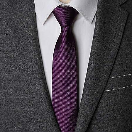 AMWFF Corbata con Cremallera para Hombre, Corbata Moderna, 6 ...