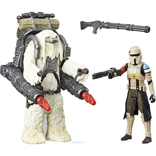 STAR WARS Rogue One - SCARIF STORMTROOPER & SQUAD LEIDER - Pak 2 beeldjes 10cm