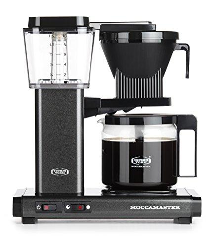 Moccamaster KBG 741 AO Independiente Totalmente automática - Cafetera (Independiente, Cafetera de filtro, 1,25 L, De café molido, 1520 W, Gris)