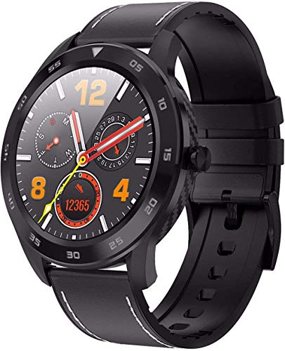 Reloj inteligente de negocios para hombres, IP68 impermeable salud reloj inteligente, con calorías-E5