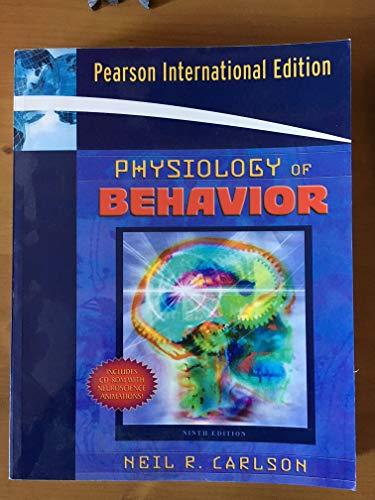 Physiology Of Behavior, 9Th Ed.