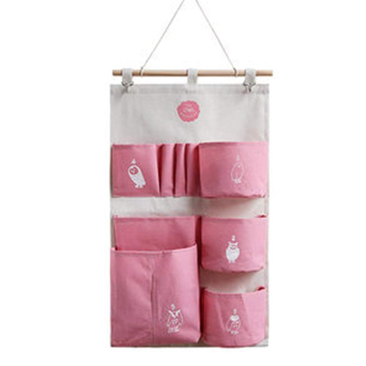 鋭く問い合わせ時系列ZaRoing ウォールポケット壁掛け収納ポケットドア 衣類 タオル 靴下 書籍 小物収納袋