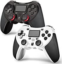 TERIOS Wireless Controllers Compatible with Playstation 4 Game Controllers for PS4 Pro, PS4 Slim, Built-in Speaker, Stereo Headset Jack Multitouch Pad Rechargeable Lithium Battery