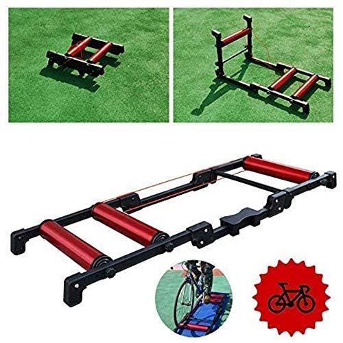Bicicleta plegable Rodillos - cubierta de bicicletas Trainer - bicicleta de entrenamiento...