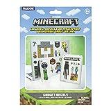 Paladone Minecraft Gadget Calcomanías – Pegatinas impermeables y extraíbles – Producto oficial