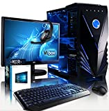 'VIBOX Cetus package54Gaming PC con WarThunder, 21.5HD monitor, 4Ghz Intel i7quad core...