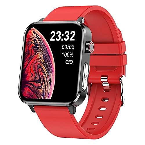 ZGZYL E86 Hombres Smart Watch Temperatura Temperatura Temperatura Sangre Oxigeno Respiración Rata Presión Arterial Ratón Corazón Reloj Inteligente Reloj De Fitness Impermeable,C