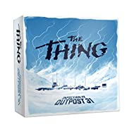 USAOPOLY The Thing Infection at Outpost 31 Board Game | 1982 The Thing Movie | John Carpenter Horror Film