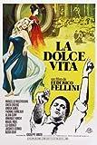 LA Dolce VITA - Spanish – Movie Wall Poster Print – A4