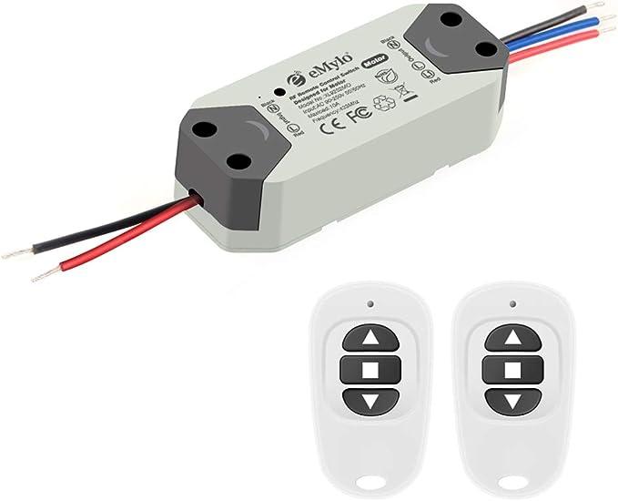 438 opinioni per eMylo RF Motor Controller Switch Smart Wireless relè RF 220V Motore interruttore