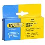 Tacwise Grapas - Caja de 2000 grapas gal...