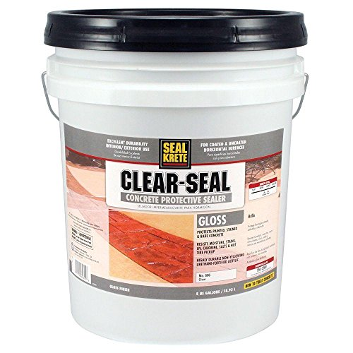 Seal-Krete 5-gal. Gloss Clear Seal Concrete Protective Sealer