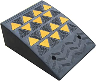 MZTYH Car Ramp X1, Rubber Kerb Ramps, Wheelchair Walkway Ramp, for Bicycle Lawn Mower Cart Disabled Access (405019cm)