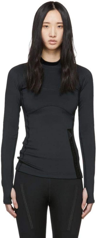 adidas by Stella McCartney (アディダス) レディース トップス Tシャツ 黒 Run T-Shirt サイズL [並行輸入品]