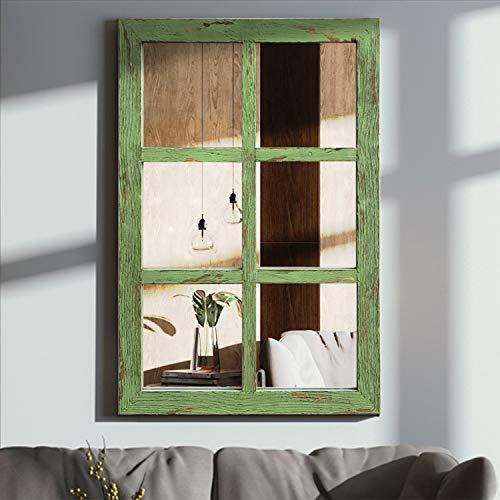 Espejo decorativo de pared para colgar en la pared, espejo decorativo largo