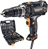 Hammer Drill, TACKLIFE Corded drill with Position Clutch,High Torque, 2 Variable Speed, Liquid