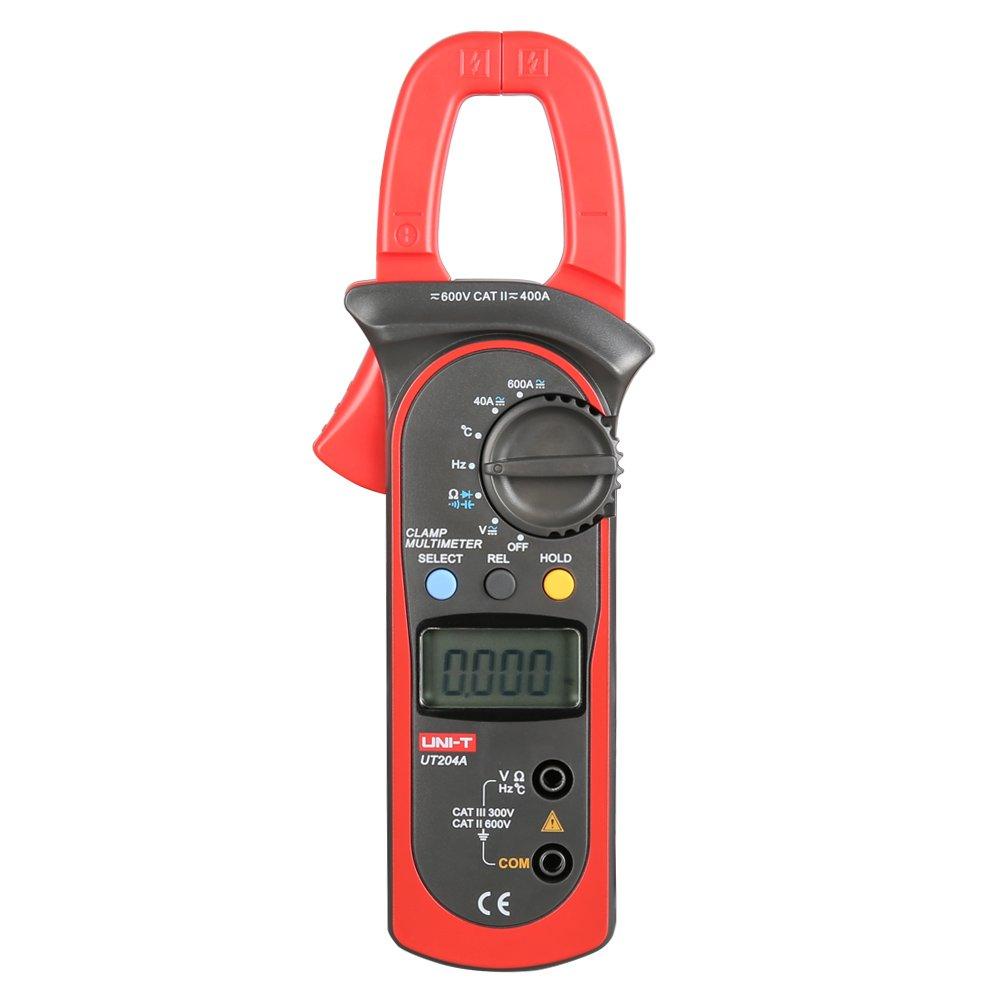 Clamp Meter Digital Multimeter 5 ☆ popular AC DC Auto Long Beach Mall UT204A UT203 Voltmeter